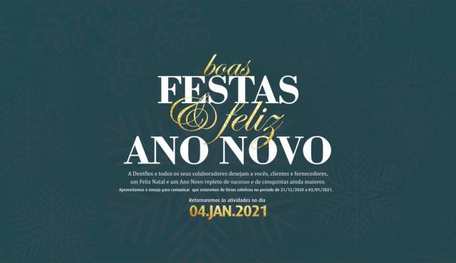 Comunicado de BOAS FESTAS!!!